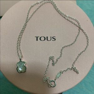 Tous Mother of Pearl white necklace